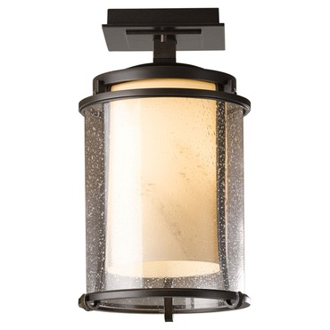 Meridian LED Outdoor Semi Flush Mount