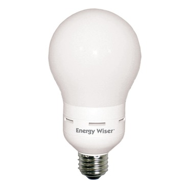 A20 Medium Base 20W CFL 2800K 120V by Bulbrite | 512020