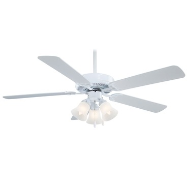 Contractor Uni-Pack Ceiling Fan with Light