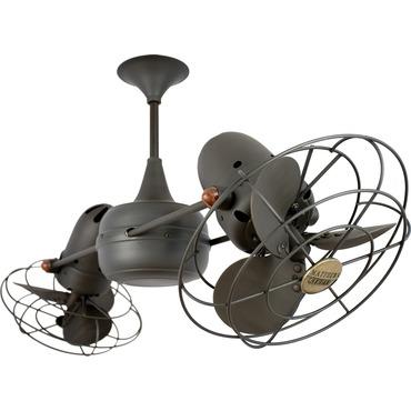 Duplo Dinamico Metal Ceiling Fan