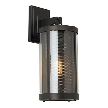 Bluffton Outdoor Wall Sconce with Vintage-Style Bulb