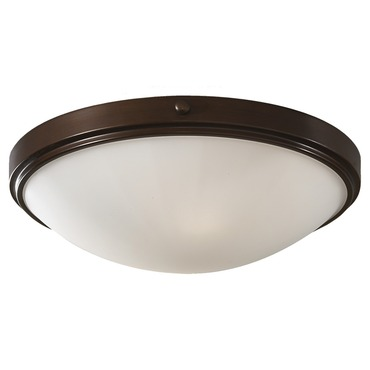 Perry Flush Mount Heritage Bronze