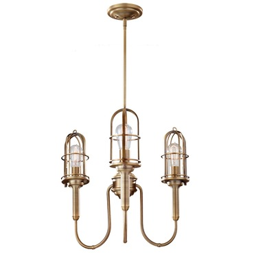 Urban Renewal 2825 Chandelier with Vintage-Style Bulbs