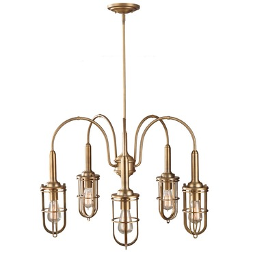 Urban Renewal 2826 Chandelier with Vintage-Style Bulbs