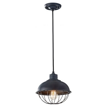 Urban Renewal 1242 Pendant with Vintage-Style Bulb