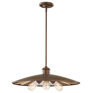 Urban Renewal 1281 Pendant with bulb