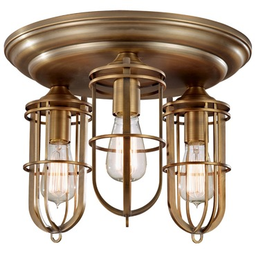 Urban Renewal Flush Mount with Bulb