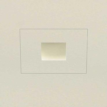 Aurora LED Square Edge 1.3 Inch Flangeless Trim/Housing