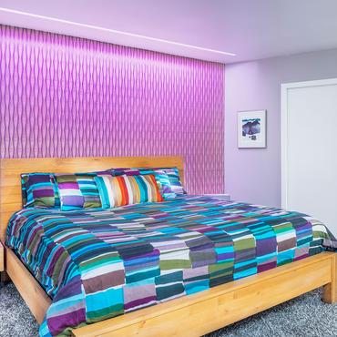 Reveal RGB/White Plaster-In LED System 6W 24VDC