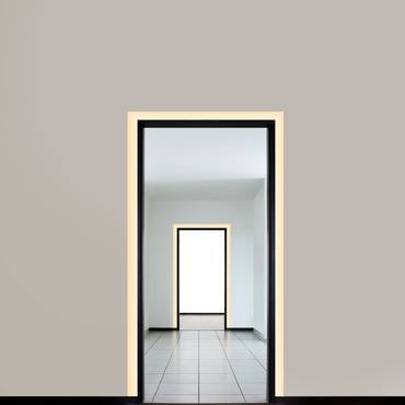 Verge Door Frame Plaster-In LED System 2.5W 24VDC