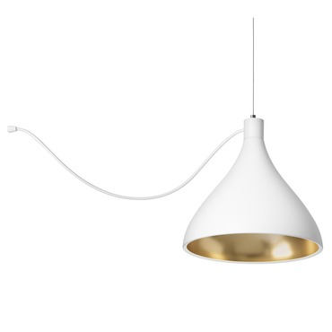 Swell Single String Medium Indoor / Outdoor Pendant
