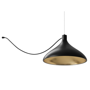 Swell Single String Wide Indoor / Outdoor Pendant