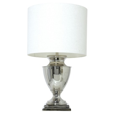 Claudia Table Lamp with Drum Shade