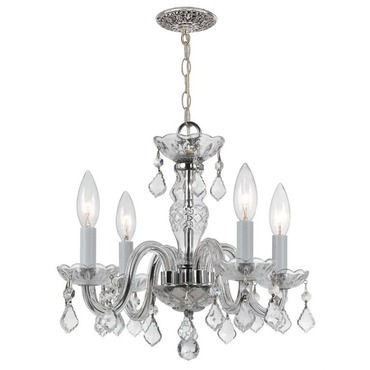 Traditional Italian Crystal 1064 Mini Chandelier