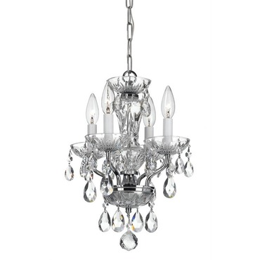 5534 Traditional Italian Crystal Mini Chandelier