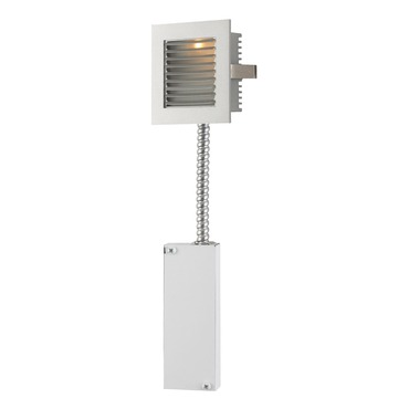 Step Light Retrofit with Louver Faceplate