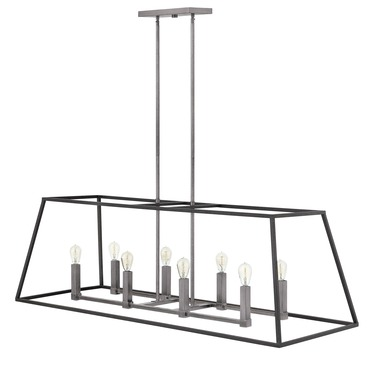 Fulton Double Linear Chandelier