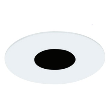 E3 3 Inch Round LED Flanged Flat Trim By Element By Tech Lighting E3RFF OW