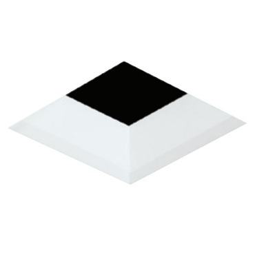 3 Inch Square Flangeless Bevel Trim by Element by Tech Lighting | E3SLB-OW