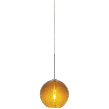 FJ Bulle Pendant  by LBL Lighting | HS348AMSC1B35FSJ
