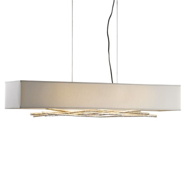 Brindille Linear Island Pendant Soft Gold