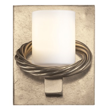 Cavo Glass Wall Sconce Soft Gold