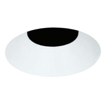 3 Inch Round LED Flangeless Bevel Trim by Element by Tech Lighting | E3RLB-OW