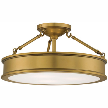 Harbour Point Large Semi Flush Mount