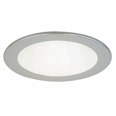 R3-409 3 Inch Round Lensed Shower Trim by Beach Lighting | R3-409BN