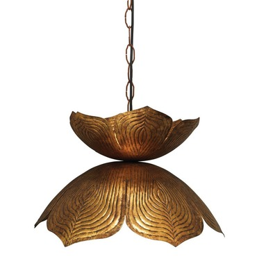Flowering Lotus Pendant