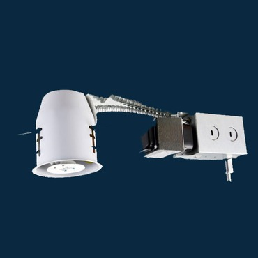 R3-499RAT 3 Inch GU5.3 MR16 Non-IC Remodel Housing by Beach Lighting | r3-499rat