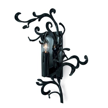 Flower Power Right Wall Sconce by Brand Van Egmond | FPW30BLU-R