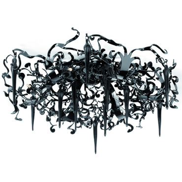 Flower Power Ceiling Flush Mount by Brand Van Egmond | FPP60BLU