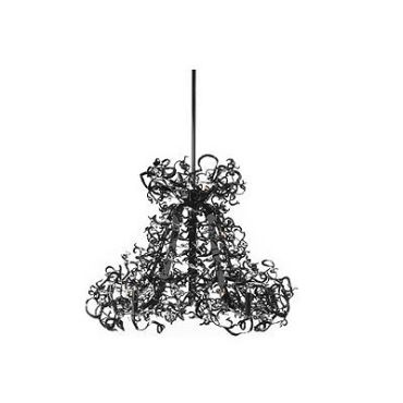 Icy Lady Double Round Chandelier