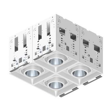 Modul-Aim Square Non-IC Remodel Housing