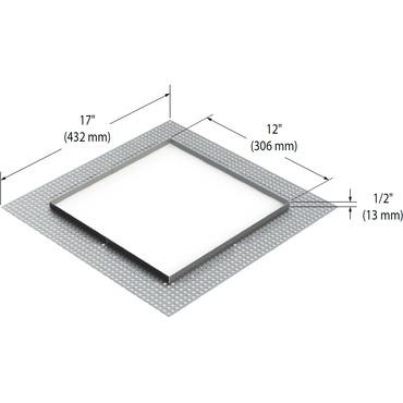 Modul-Aim Square Flangeless Trim