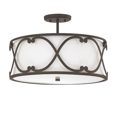 Alexander Semi Flush Mount