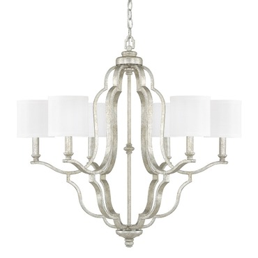 Blair Chandelier with Shades