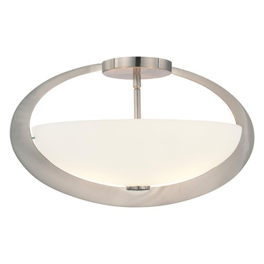Earring Semi Flush Mount