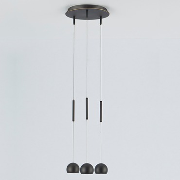 Lichtstar R9732 Low Voltage Pendant Trio