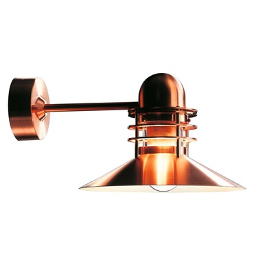 Nyhavn Outdoor Wall Sconce by Louis Poulsen | 5743909379