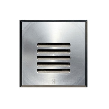 Step Light Outdoor Louvre Square by Hunza Lighting | SLLUSQss
