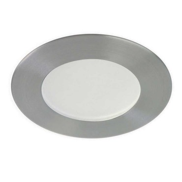 S3450 3.5 Inch Round Low Profile Shower Trim by Contrast Lighting   S3450-12BR
