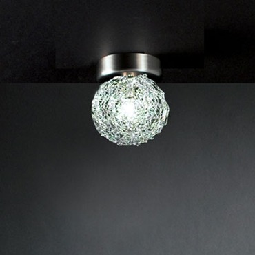 Soffione Ceiling Flush Mount by Lightology Collection | lc-soffione 1p ni