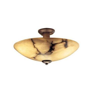 Dome Ceiling Semi Flush Mount