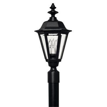 Manor House Exteror Post Light by Hinkley Lighting | 1441BK