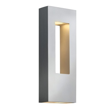 Atlantis Rectangle Exterior Wall Sconce