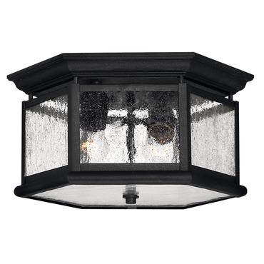 Edgewater Outdoor Ceiling Light Fixture by Hinkley Lighting   1683BK