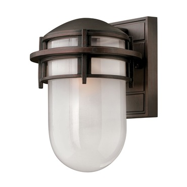 Reef Exterior Wall Sconce Bronze