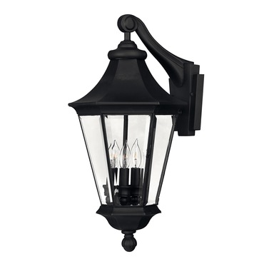 Senator 22 Inch Exterior Wall Sconce by Hinkley Lighting | 2504bk